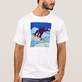 T-shirt Faire du surf des neiges par Piliero
