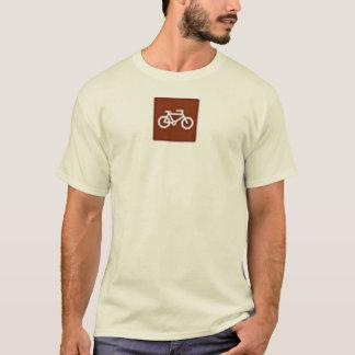 T-shirt Faire du vélo autorisé
