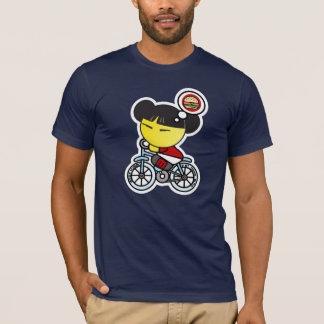T-shirt Faire du vélo méga de Yummo
