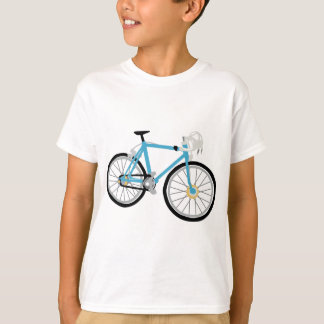 T-shirt Faire du vélo sain