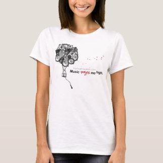 T-shirt faire--haut-womens