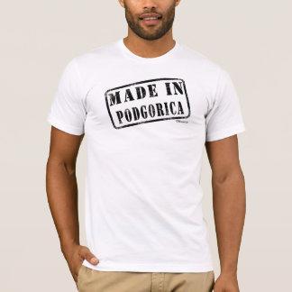 T-shirt Fait à Podgorica