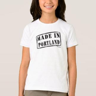 T-shirt Fait à Portland