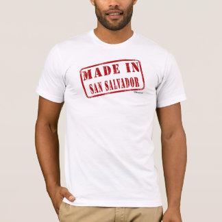 T-shirt Fait à San Salvador