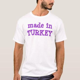 T-shirt fait chez la dinde