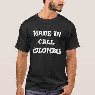 T-shirt Fait dans Cali, la Colombie - customisée