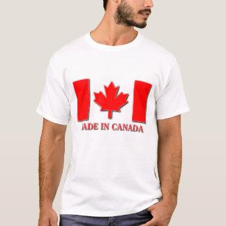 T-shirt Fait dans la fierté de Canadien de chemise du