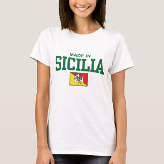 T-shirt Fait dans Sicilia