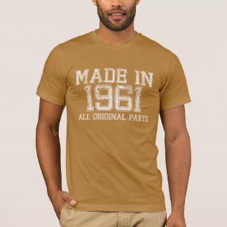 T-shirt FAIT en 1961 toute la pièce en t ORIGINALE de