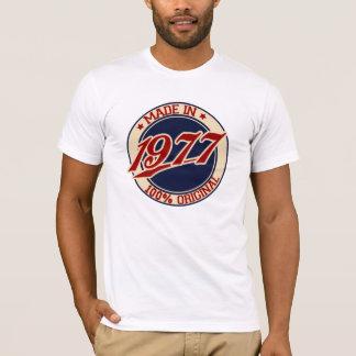 T-shirt Fait en 1977