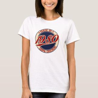 T-shirt Fait en 1980