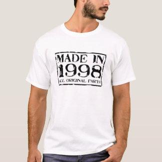T-shirt fait en 1998 toutes les pièces d'original