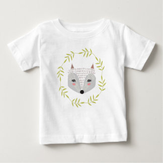 T-shirt fait face rusé de bébé