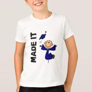 T-shirt FAIT LUI le chiffre obtention du diplôme de bâton