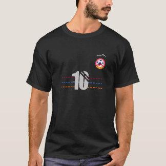 T-shirt fait sur commande arménien du football -