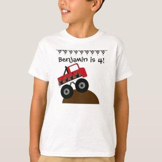 T-shirt fait sur commande de camion de monstre