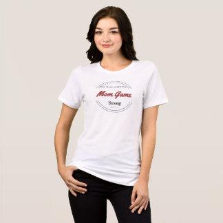 T-shirt fait sur commande de jeu de maman