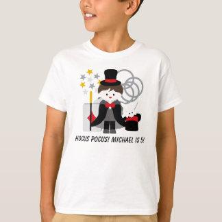 T-shirt fait sur commande de magie d'abracadabra