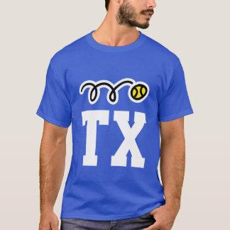 T-shirt fait sur commande de monogramme de