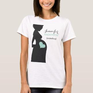 T-shirt fait sur commande de Sage-femme-Doula