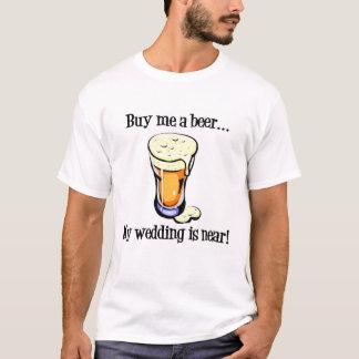 T-shirt fait sur commande d'enterrement de vie de