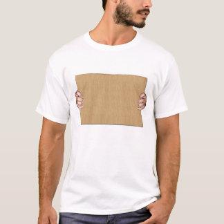 T-shirt Faites à votre propre écriture sur le carton 2