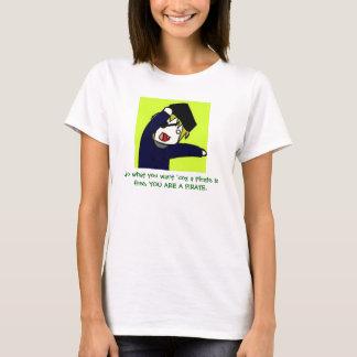 T-shirt faites ce que vous voulez le 'coz qu'un pirate est