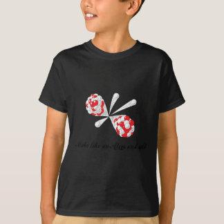 T-shirt faites comme un atome et dédoublez
