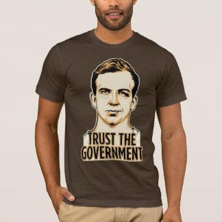 T-shirt Faites confiance à la chemise de gouvernement