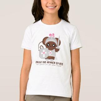 T-shirt Faites confiance à l'armure d'un DIEU