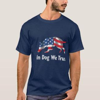 T-shirt Faites confiance à votre chemise de chien