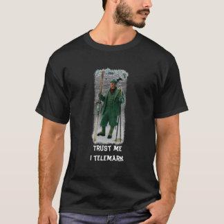 T-shirt Faites- confiancemoi caractère de telemark d'I
