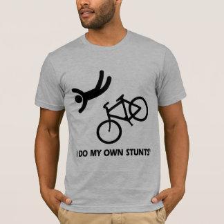 T-shirt Faites du vélo mes propres cascades