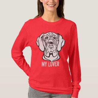 T-shirt Faites face à mon amant