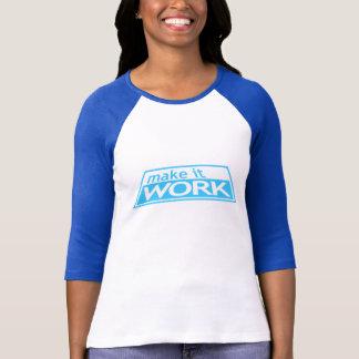 T-shirt FAITES- FONCTIONNERLE - la piste Tim Gunn Heidi