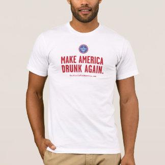 T-shirt Faites l'Amérique bue encore