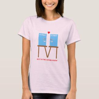 T-shirt Faites-le dans la cabine de vote