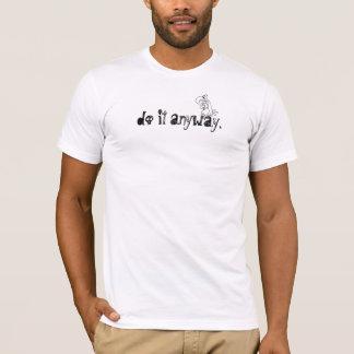 T-shirt faites-le de toute façon, dos de Death Valley