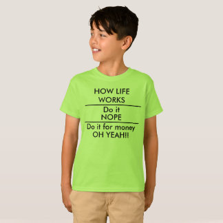 T-shirt Faites-le pour la chemise drôle d'école d'enfants