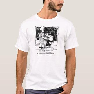 T-shirt Faites les impôts du professeur pour le crédit