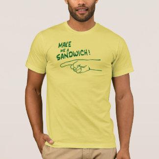 T-shirt Faites-moi un sandwich !