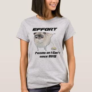 T-shirt Faites un effort