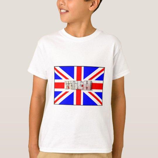 T-shirt Faith 3D England 3