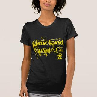 T-shirt Fameland Garage Company - édition jaune