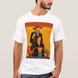 T-shirt Famille amish Lancaster WPA 1937