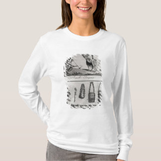 T-shirt Famille, bras et ornements Iroquois