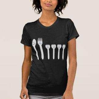 T-shirt Famille d'argenterie