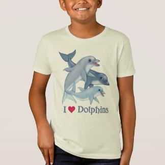 T-Shirt Famille de dauphin