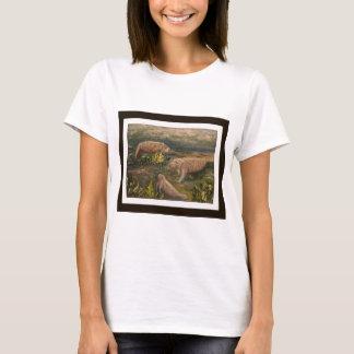 T-shirt Famille de lamantin