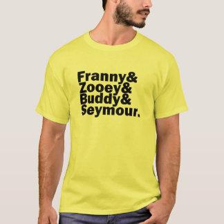 T-shirt Famille de verre